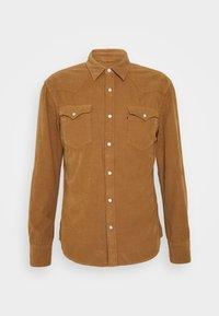 Levi's® - BARSTOW WESTERN SLIM - Skjorta - garment dye cord toasted coconut - 0
