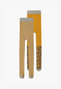 s.Oliver - JUNIOR 2 PACK - Tights - golden yellow - 0