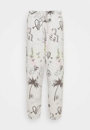 PAPERBAG WAIST JOGGERS GRAFFITI - Tracksuit bottoms - multi