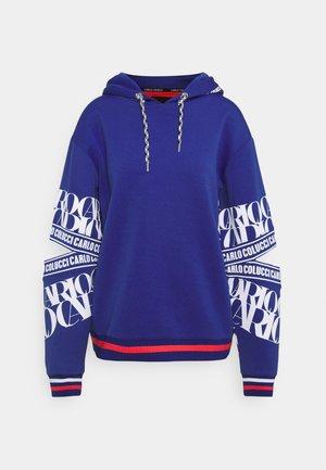 HOODIE WITH CUT OUT - Sweatshirt - royalblue