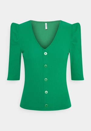ONLNELLA BUTTON - Cardigan - jelly bean