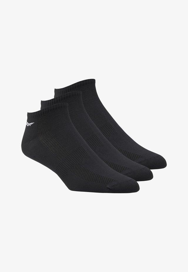 ONE SERIES TRAINING 3 PAIR PACK ANKLE - Sports socks - black