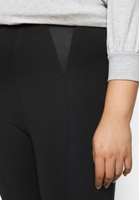 CAPSULE by Simply Be - SHAPER - Leggings - Trousers - black - 4