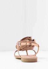Kennel + Schmenger - ELLE - T-bar sandals - rose/skin - 5