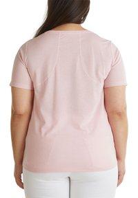 Esprit Sports - MIT STATEMENT-PRINT - Basic T-shirt - light pink - 4