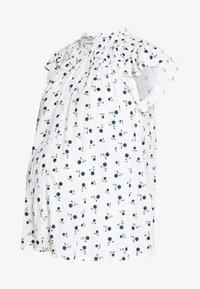 Dorothy Perkins Maternity - DITSY FLORAL BUTTON THROUGH CRINKLE - Overhemdblouse - ivory - 0