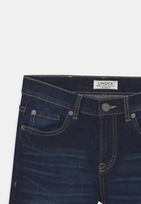 Lindex - TOM NARROW - Denim shorts - dark denim - 2