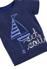 Next - BLUE SET SAIL T-SHIRT AND SHORTS SET (3MTHS-7YRS) - Shorts - blue - 5