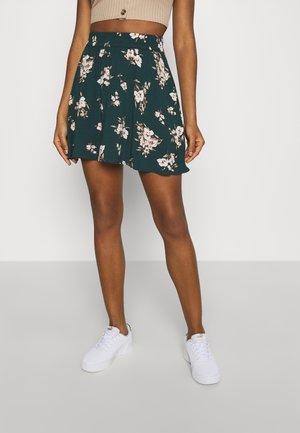 VMSIMPLY EASY SKATER - A-line skirt - ponderosa pine/sandy