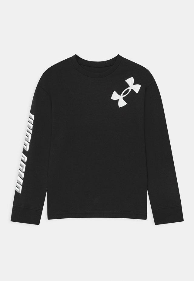 BOYS SWISH - Bluzka z długim rękawem - black