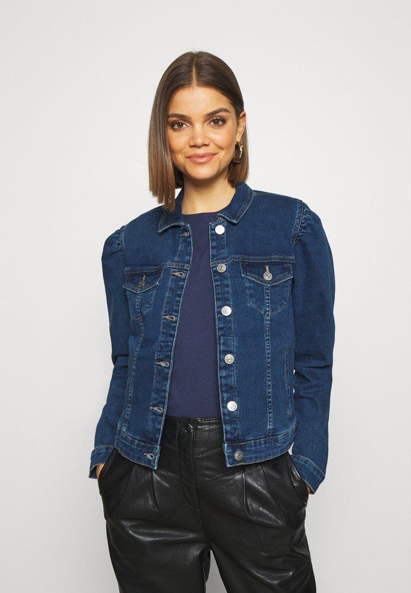 ONLY - ONLALLY  - Jeansjakke - dark-blue denim