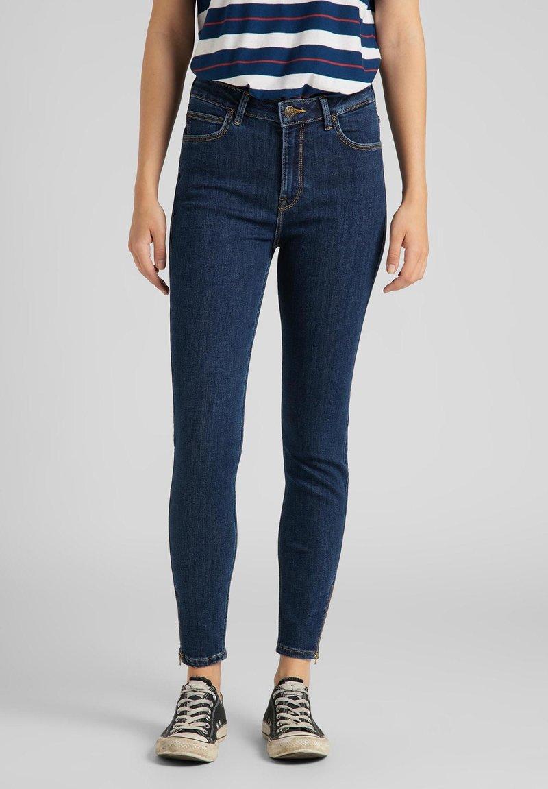 Lee - SCARLETT - Jeans Skinny Fit - stone travis