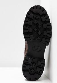 Kennel + Schmenger - BOBBY - Platform ankle boots - cognac - 6