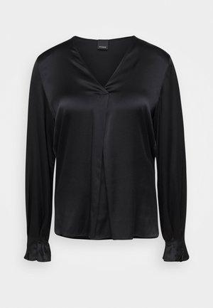 RENZO BLOUSE - Bluse - black