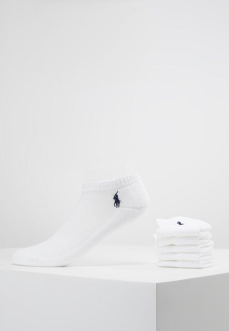 Polo Ralph Lauren - BLEND SOLE LOW 6 PACK - Socks - white