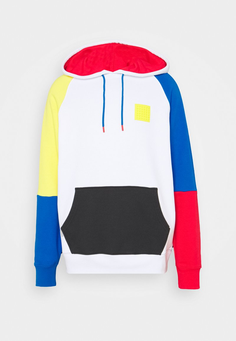 Levi's® - LEGO RELAXED HOODIE UNISEX - Luvtröja - white/blue
