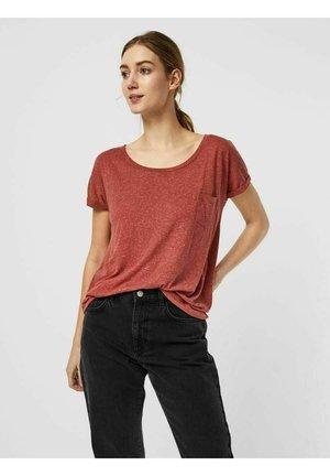 VMLUA TEE - Print T-shirt - concord grape