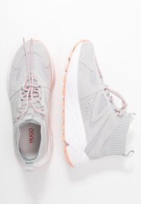 HUGO - HORIZON RUNN - Sneakersy wysokie - grey - 3