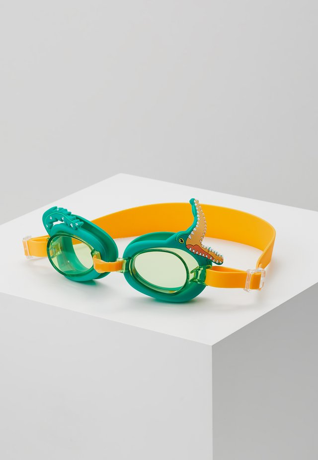 SHAPED SWIMMING GOGGLES - Zabawka - green