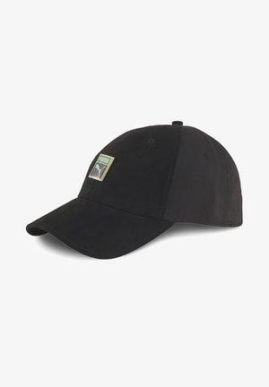 CLASSICS WOVEN TRAINER CAP MÄNNER - Cap - black