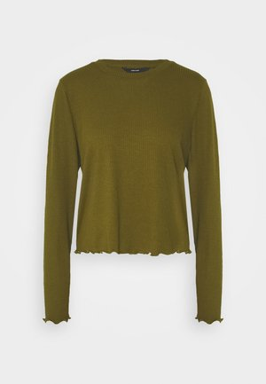 VMBREA CROPPED - Long sleeved top - fir green