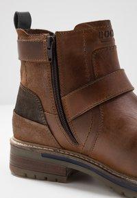 Dockers by Gerli - Cowboy/biker ankle boot - cognac - 5