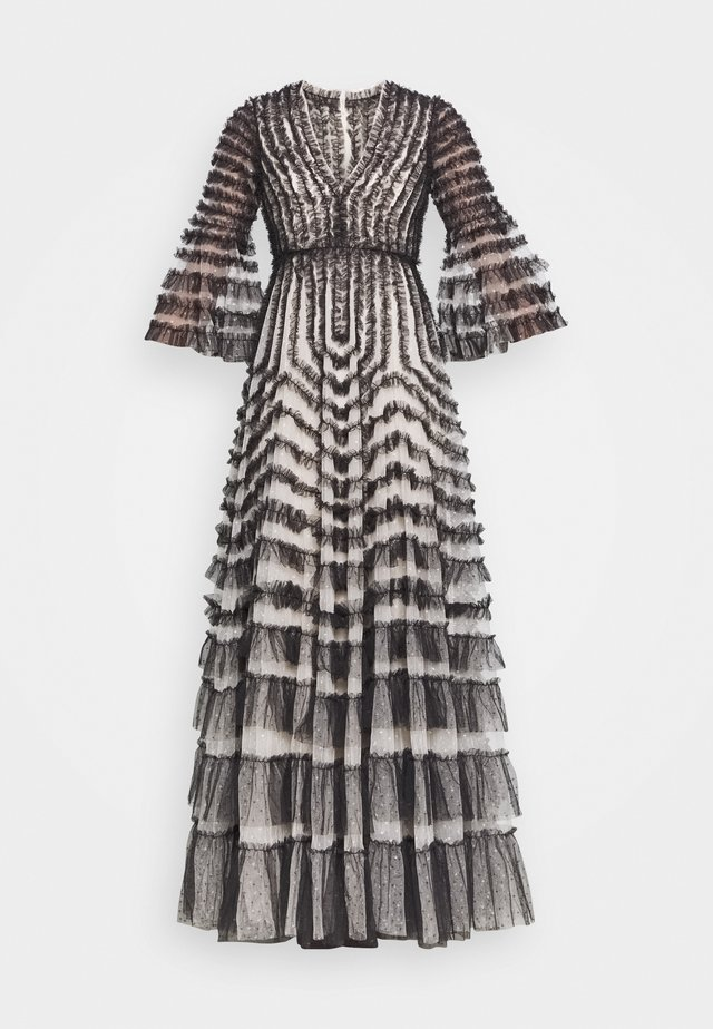 LA VIE EN ROSE GOWN - Společenské šaty - champagne/graphite