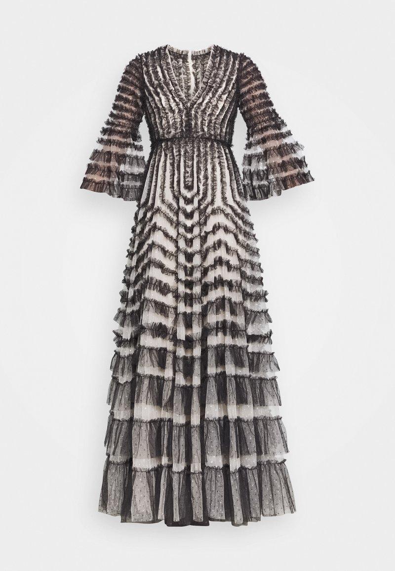 Needle & Thread - LA VIE EN ROSE GOWN - Společenské šaty - champagne/graphite