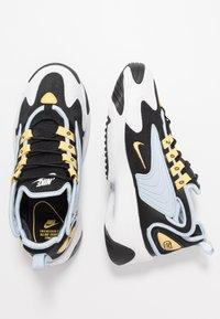 Nike Sportswear - ZOOM 2K - Sneakers - black/metallic gold/white/sail/gym red - 3