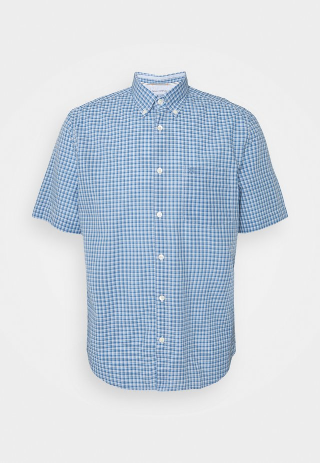 BUTTON DOWN SHORT SLEEVE - Camicia - kashmir blue