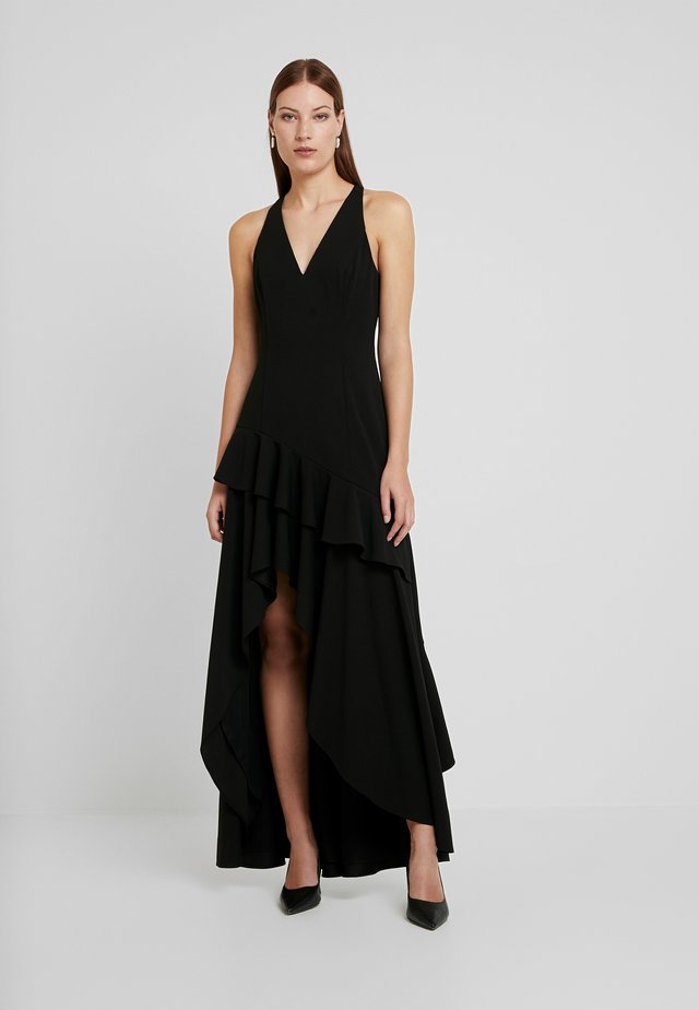 RUFFLE GOWN - Occasion wear - black