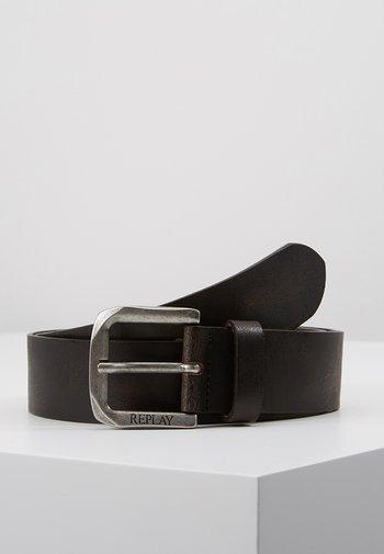Belt - black brown