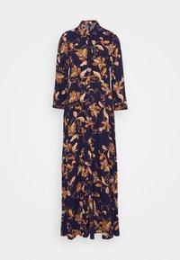 YAS Tall - YASSAVANNA FLORA LONG DRESS - Maxi dress - black - 0