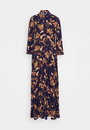YASSAVANNA FLORA LONG DRESS - Maxi dress - black