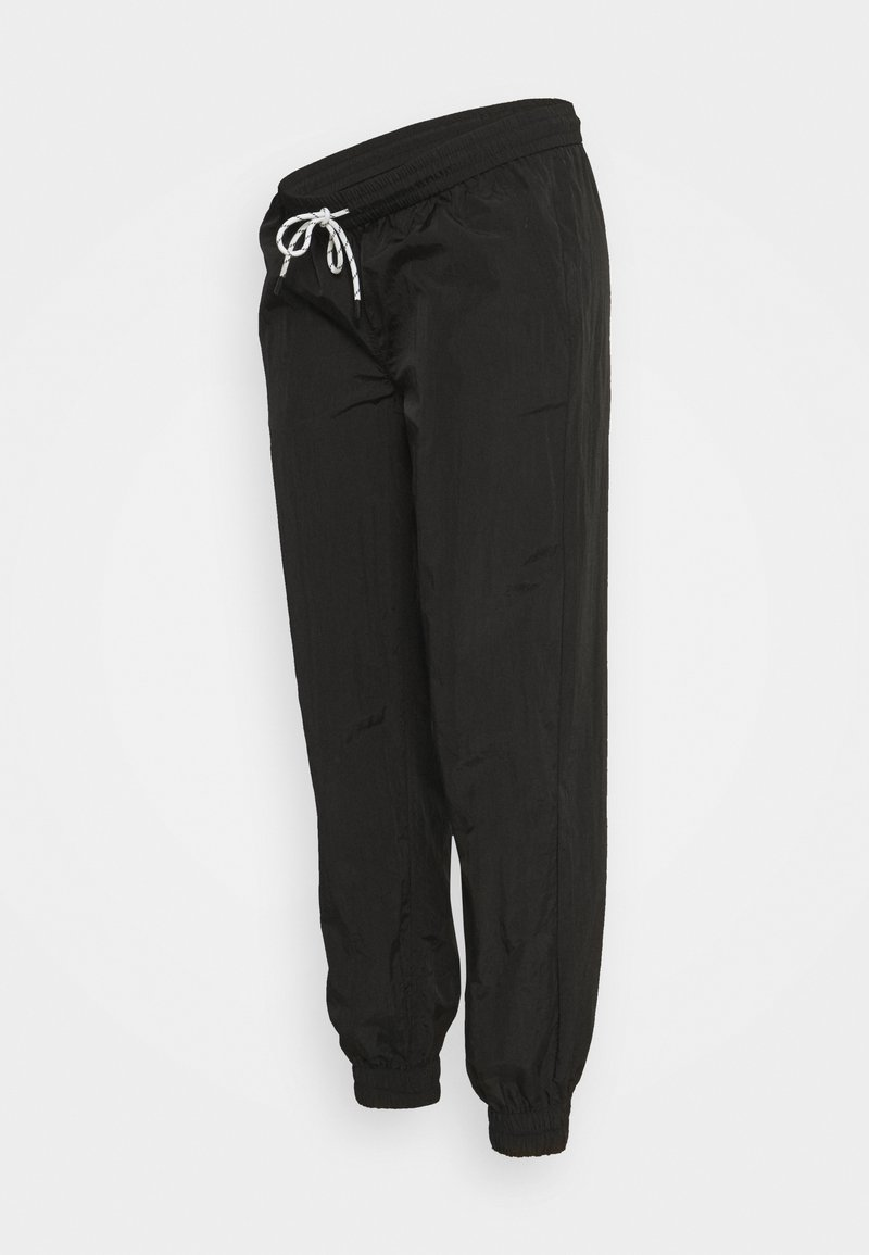 Pieces Maternity - PCMGOIA TRACK PANT - Tracksuit bottoms - black