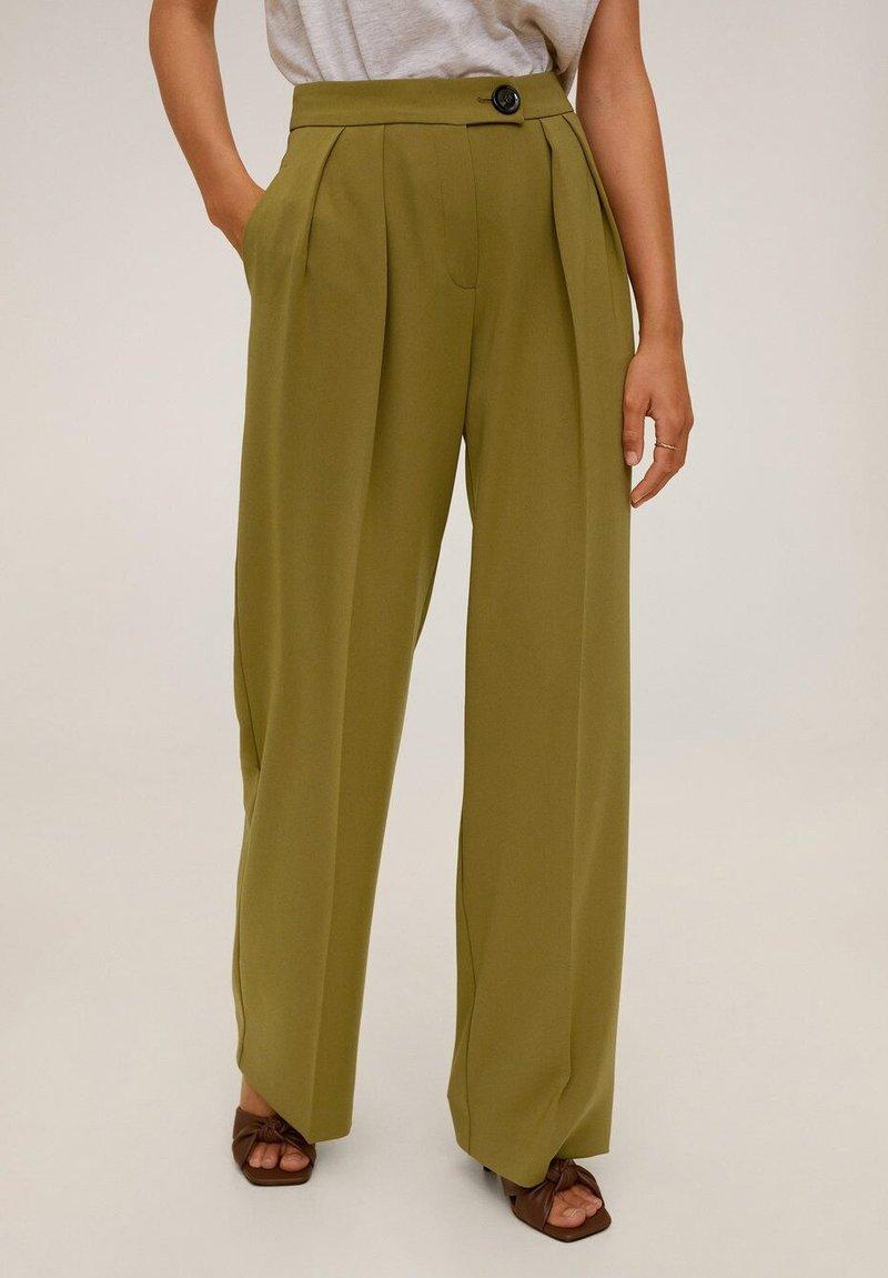 Mango - SIMO-I - Pantalon classique - kaki