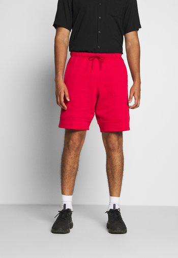 JUMPMAN AIR  - Tracksuit bottoms - gym red/black