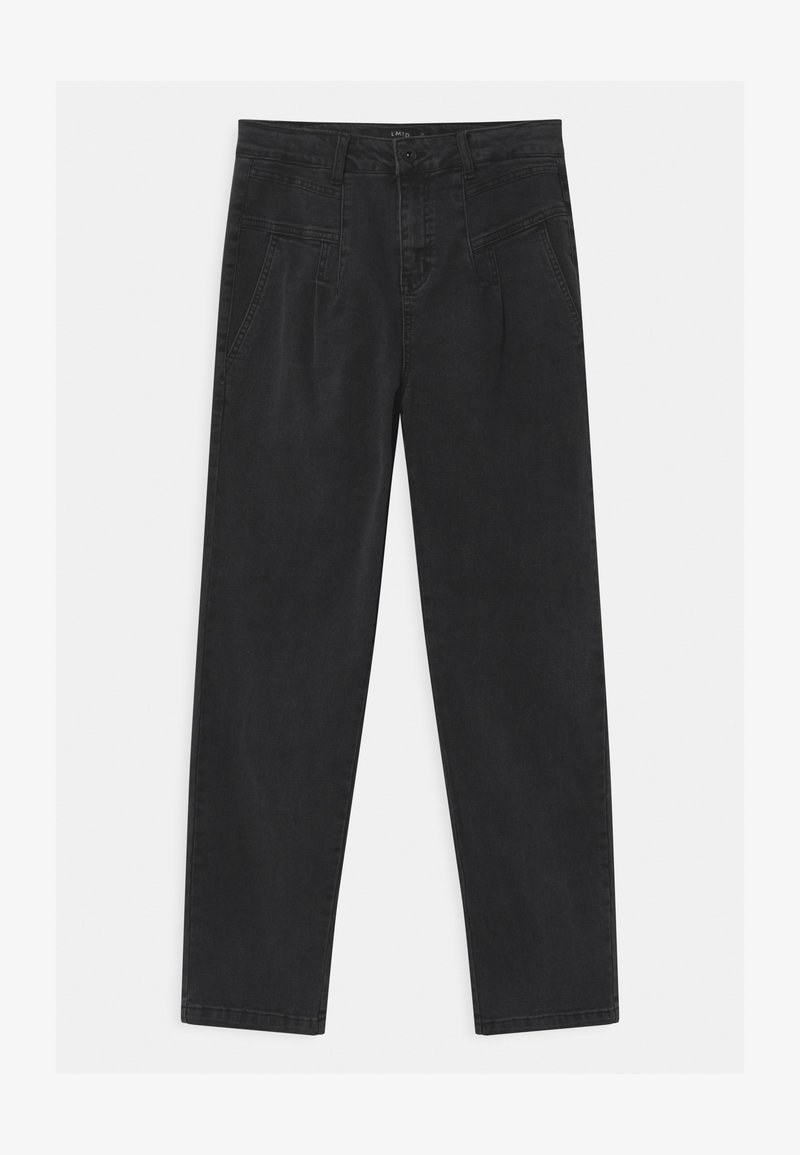 LMTD - Džíny Relaxed Fit - black denim
