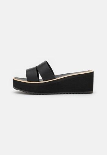 OCIGOVETH - Heeled mules - black