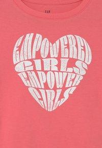 GAP - Print T-shirt - capri pink - 2