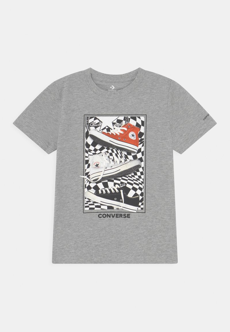 Converse - PHOTOREAL BITMAP TEE - T-Shirt print - dark grey heather