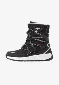 KangaROOS - K-LUCKY RTX - Lace-up boots - jet black/silver - 1