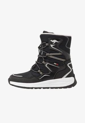 K-LUCKY RTX - Lace-up boots - jet black/silver