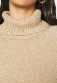 Vila - VIRIL COWL NECK - Jumper - beige - 5