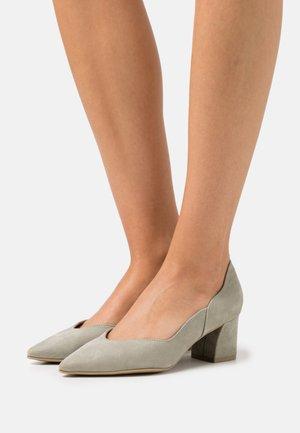 Classic heels - moss