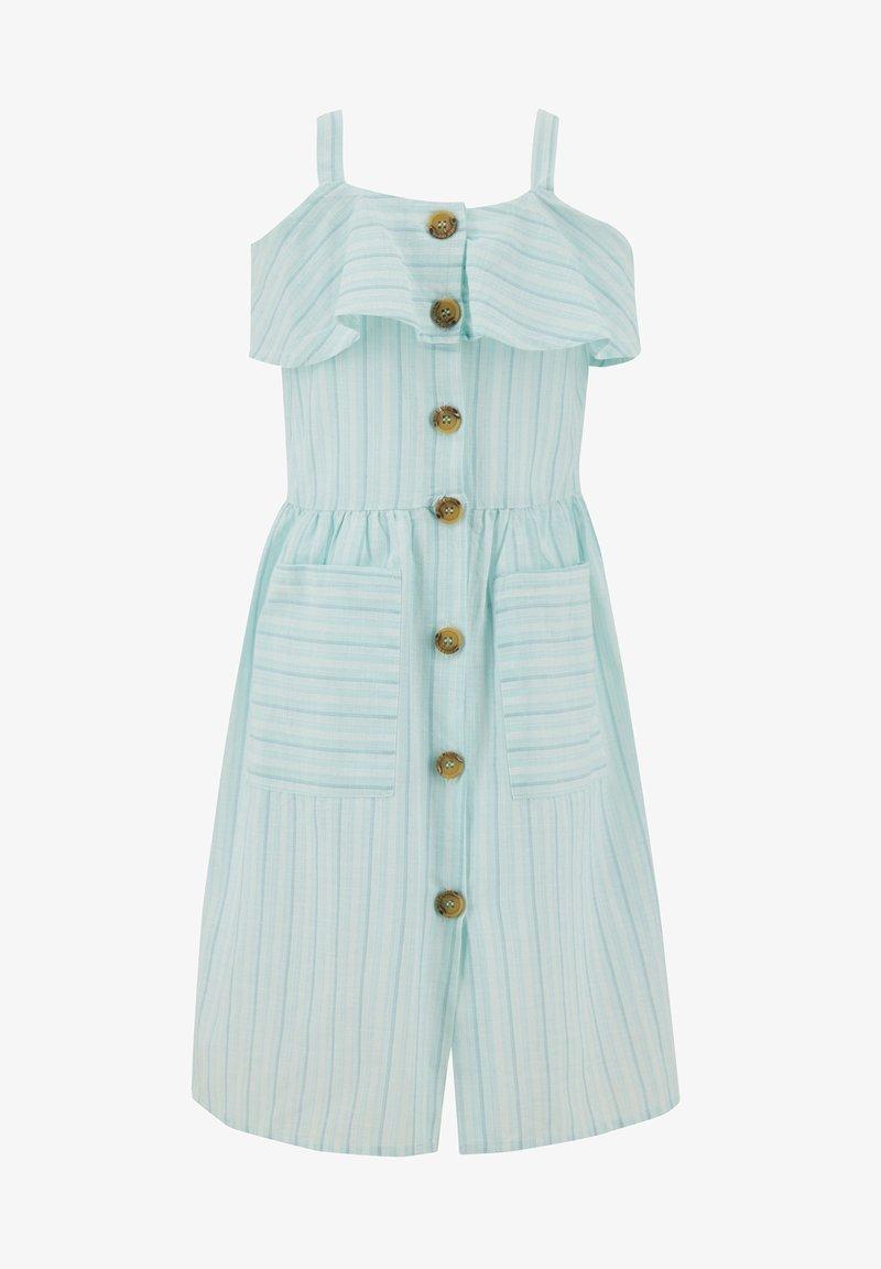 DeFacto - Shirt dress - turquoise