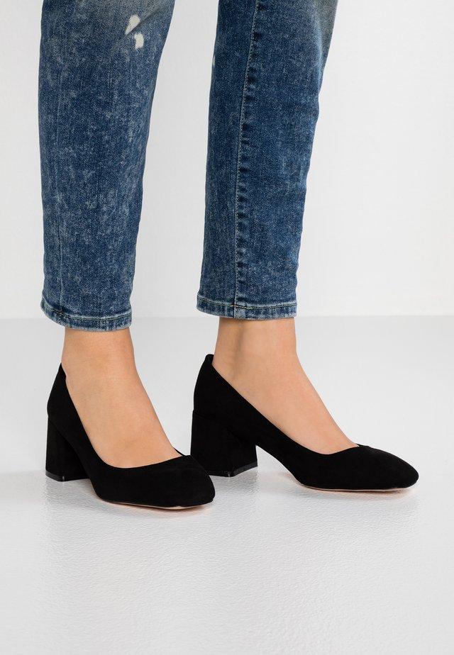 WIDE FIT WANDICE - Classic heels - black