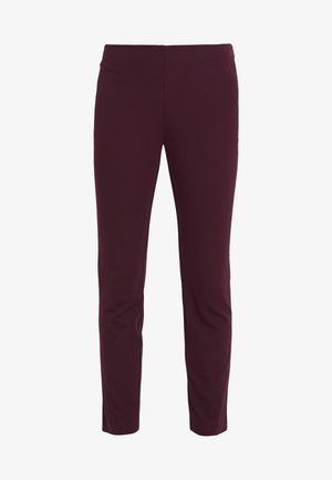 PANT - Trousers - pinot noir
