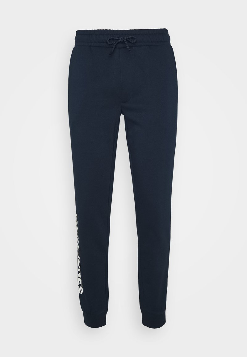Jack & Jones - JJIGORDON SIDE SOFT PANTS - Pantalon de survêtement - navy blazer