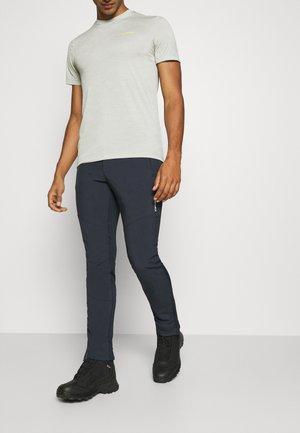 DORR - Spodnie materiałowe - dark blue